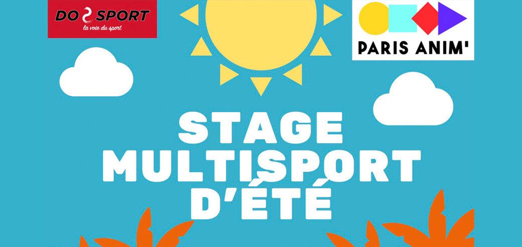 Stage Multisport d'été 2021