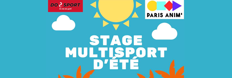 Do Sport - stage multisport d'été 2021